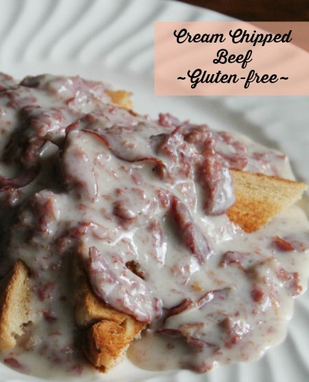 One of my favorite breakfasts is really quite easy to make at home. Check out my recipe for Cream Chipped Beef. Oh, and it's gluten-free