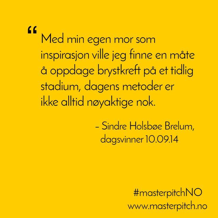 #dagenspitch 10.sept fra Sindre Holsbøe Berlum http://masterpitch.no/archives/2513