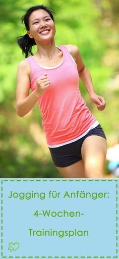 Joggen für Anfänger: 4-Wochen-Trainingsplan (Bildquelle: istock)
