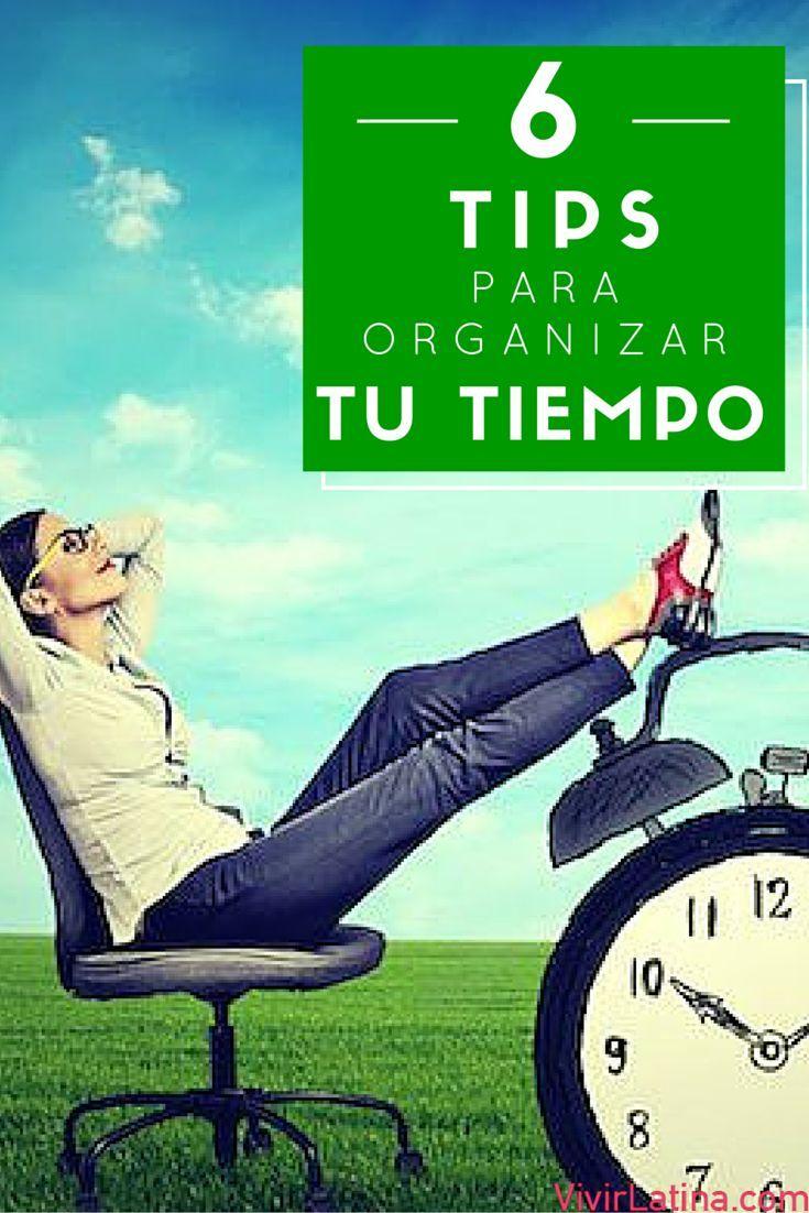 6 simple tips que te pueden ayudar para organizar tu tiempo