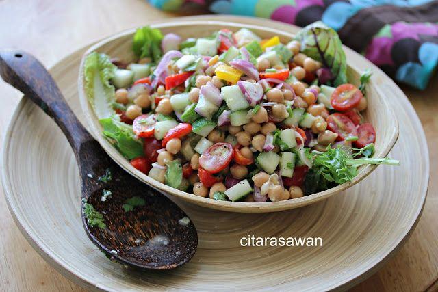 Salad Kacang Kuda / Chick Peas Salad