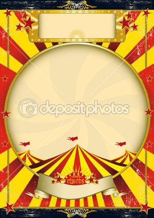 Sfondo vintage circus — Vettoriali Stock © tintin75 #30002047