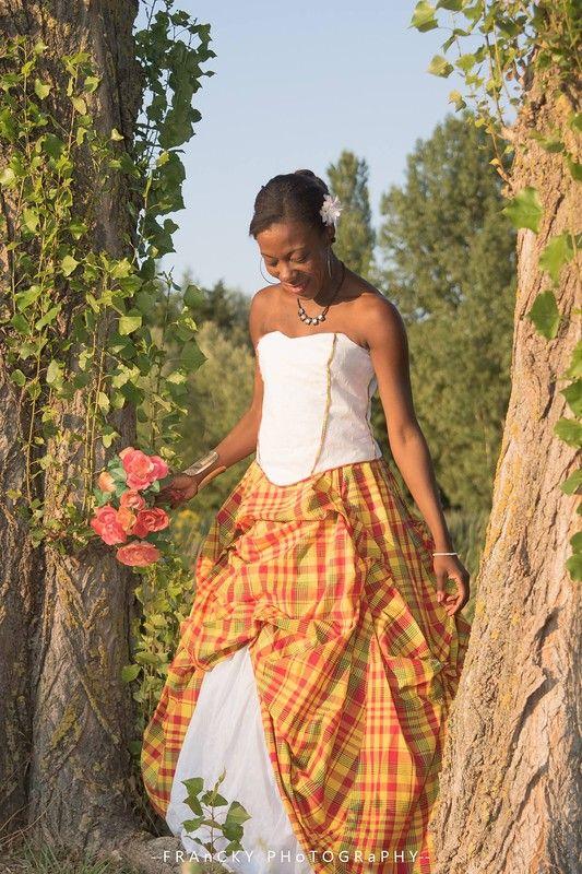 Robe mariée créole