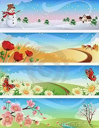 Příroda všemi smysly: Jaro, léto, podzim, zima