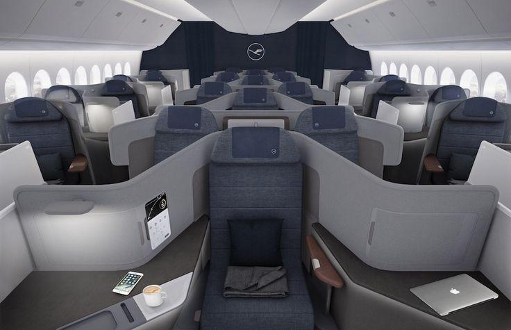 Lufthansa : nouvelle classe Affaires sur Boeing 777X