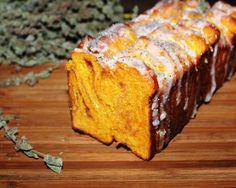 Постный отрывной тыквенный сахарный хлеб рецепт с фотографиями