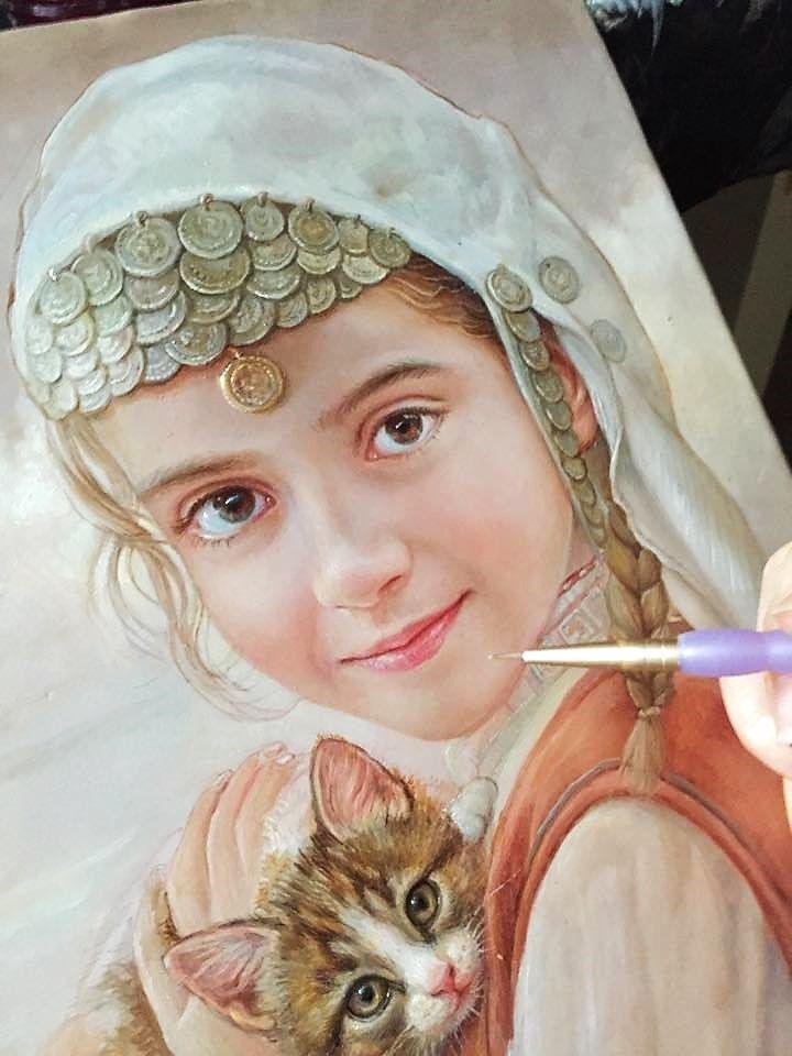 Maria Ilieva En Progreso Maria Ilieva Art Drawings