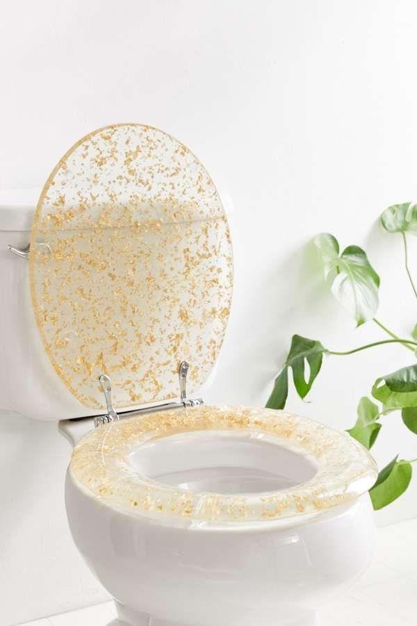 Metallic Flecked Toilet Seat Glitter Toilet Seat Toilet Seat