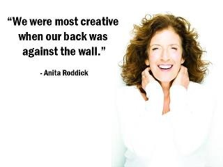 by Anita Roddick
