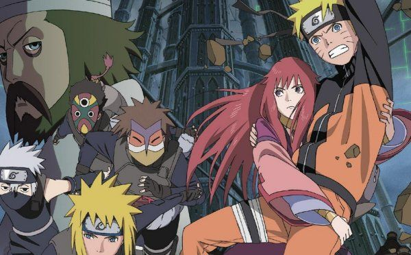 Paul Browne rewinds from Naruto Shippuden: The Lost Tower into the past