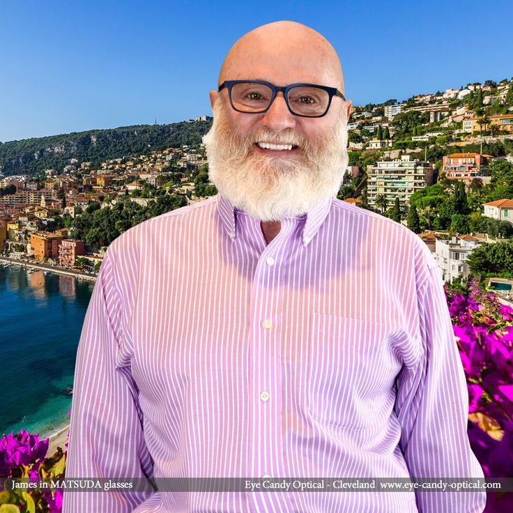 James enjoys beautiful Cinque Terre coast of Italy and looks fantastic in his new designer glasses by Matsuda. Eye Candy – the finest European Eyewear Fashion from coast to coast! Eye Candy Optical Cleveland – The Best Glasses Store! (440) 250-9191 - Book an Eye Exam Online or Over the Phone  www.eye-candy-optical.com www.eye-candy-optical.com/Contact/sign_up - Join our mailing list