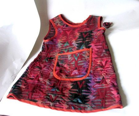 Christmas DressChildrens Clothing Dress by recyclingroom on Etsy, $45.00