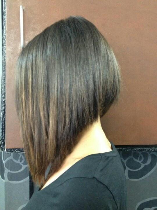 Frisur bob vorne lang hinten kurz