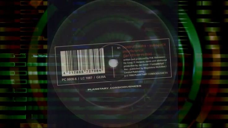 Control Freaks – Subspace Interference (Jan Driver Remix)  | 90s PROGRES...