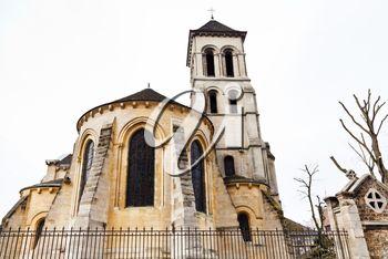 medieval Church of Saint Peter of Montmartre, Paris, France
