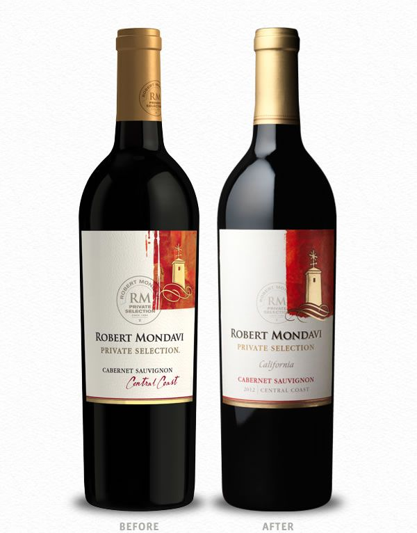 Best Before And After Wine Label  Package Design Images On