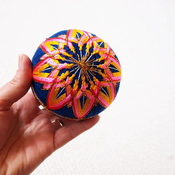 Temari ball Japanese play ball Japan nostalgic toy asian