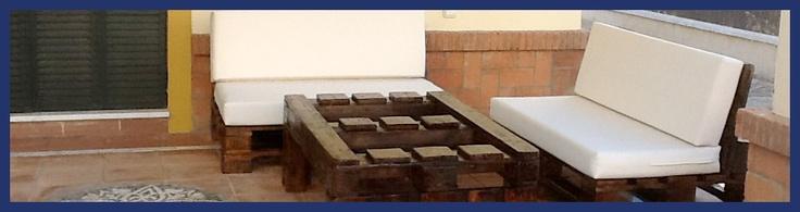 Muebles de Palets a mano y baratos en Sevilla