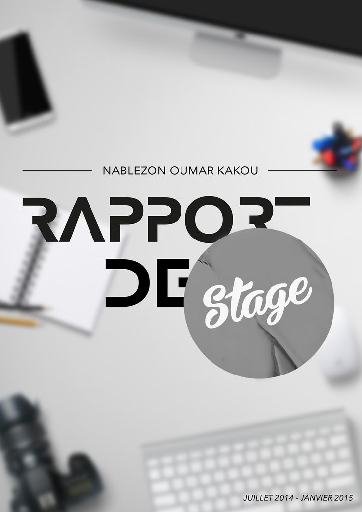 best 25  rapport de stage ideas on pinterest