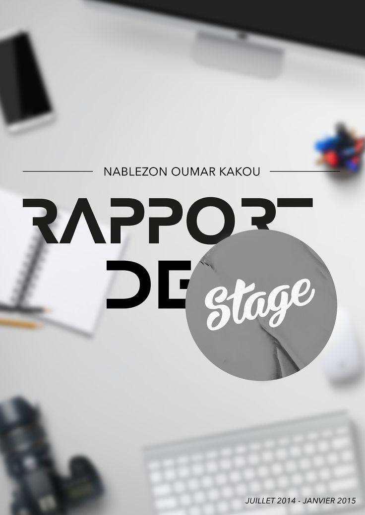 thème Rapport De Stage sur Pinterest | Présentation rapport de stage ...