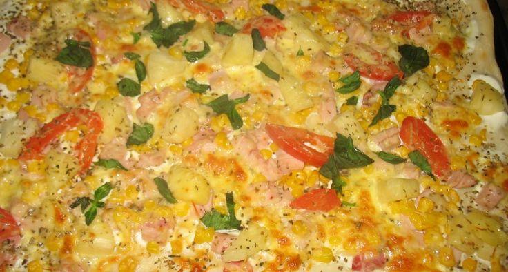 Pizza tészta recept   APRÓSÉF.HU - receptek képekkel