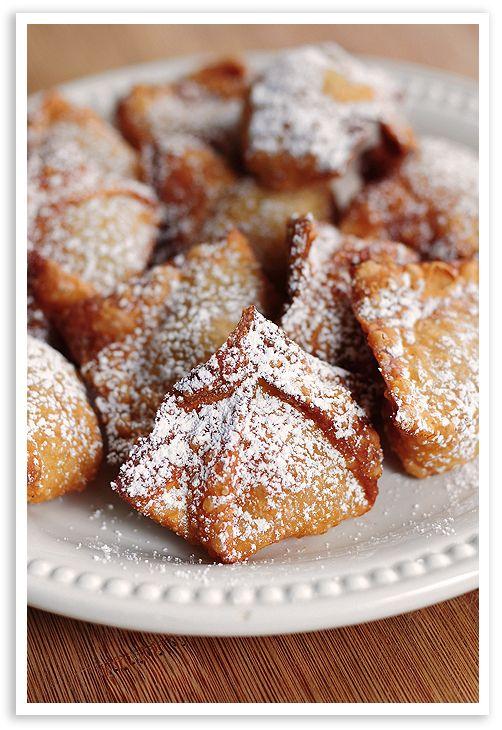 Peach Wontons: Treats, Peaches Wontons 9, Desserts Wontons Recipes, Peaches Desserts, Eating, Sweet Tooth, Cooking, Delicious, Baking