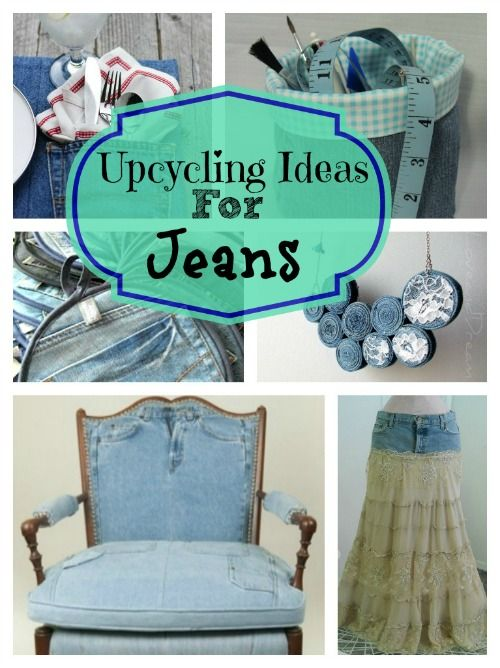 great ideas for upcycling those old jeans creative