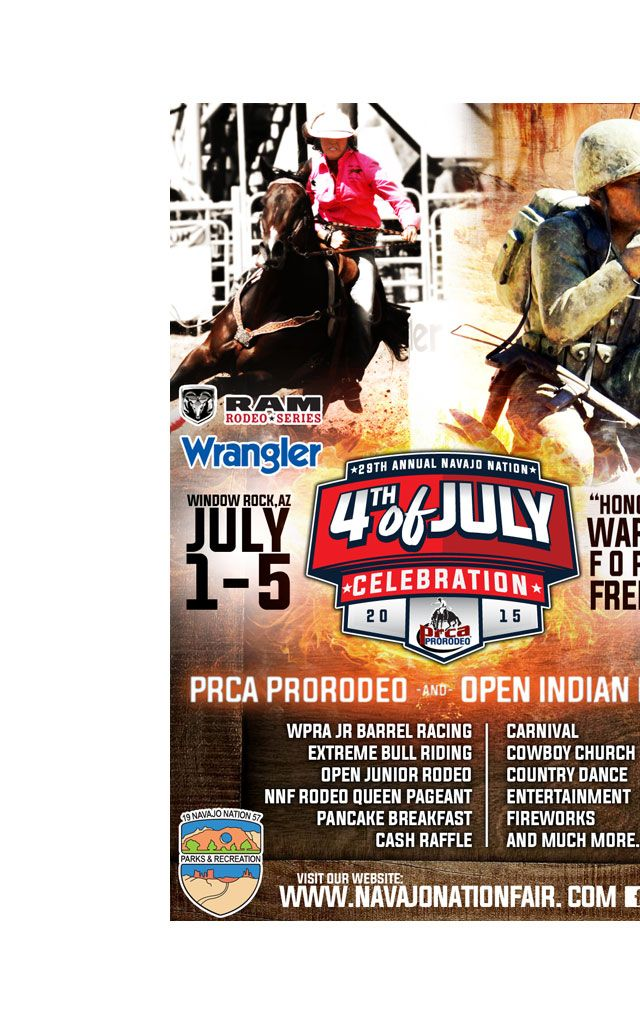 29th Annual NN Fourth of July... Looks like they moved the Prescott rodeo to Window Rock.