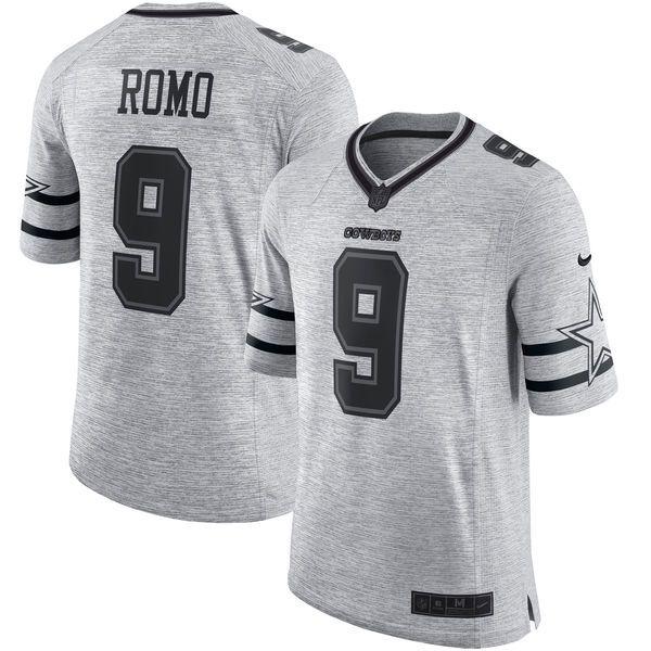 Tony Romo Dallas Cowboys Nike Gridiron Gray II Limited Jersey - Gray - $159.99