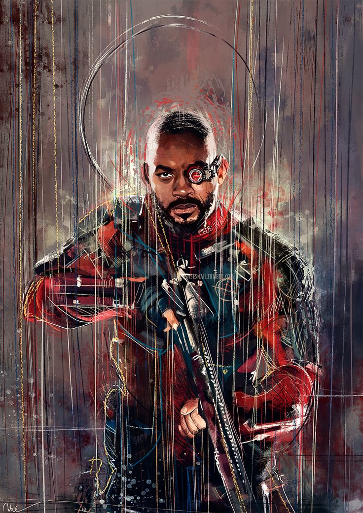 Deadshot - Suicide Squad Prints on my Society6, RedBubble and Mont8 Facebook | Instagram | Twitter (and now I'll disappear again for a bit - I'm going to Italy for a wedding!