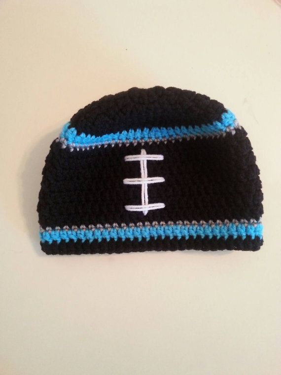 Hey, I found this really awesome Etsy listing at https://www.etsy.com/listing/251377102/baby-carolina-panthers-hat-crochet