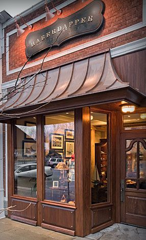 This Dapper Lake Geneva Storefront Was Designed And Delivered By Our Very  Own, Woodland Furniture! Sculpting The Details On Interiors AND Exteriors  For ...