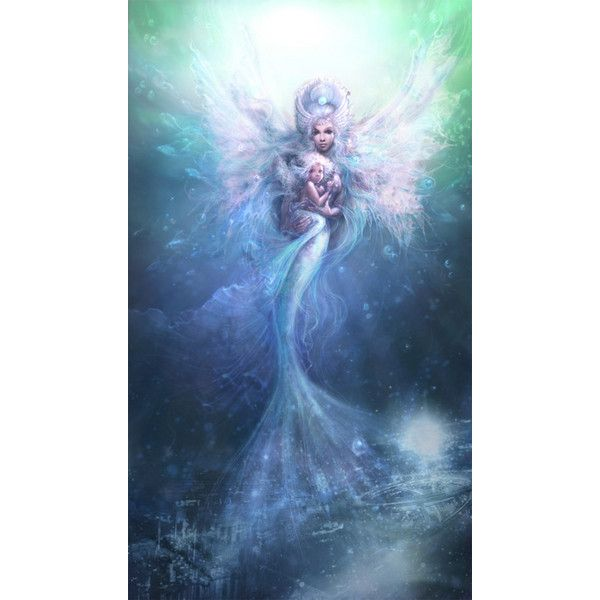 Lynne2 ❤ liked on Polyvore featuring mermaids
