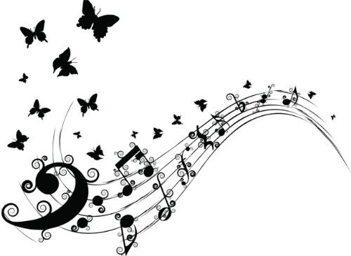 This one in Lilac - Music Notes And Butterflies Picture Art - Kids Bed Room - Peel & Stick Sticker - Vinyl Wall Decal - 24 Colors Available by Design With Vinyl Decals, http://www.amazon.com/gp/product/B00AL831SO/ref=cm_sw_r_pi_alp_rWtirb1TMW04H