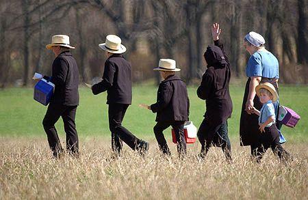 La communauté Amish, Etats-Unis