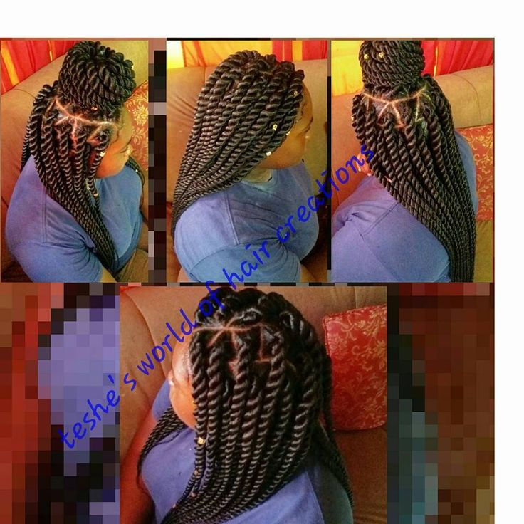 Rope twist done with xpression braid