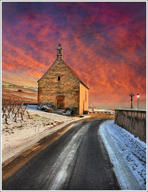 Church Street    Sigolsheim - Alsace,France