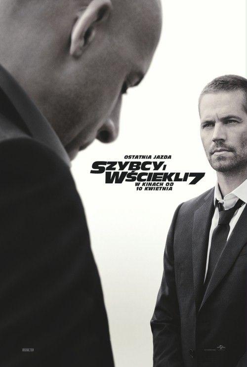 Tej prędkości, tej wściekłości nigdy dość! Dominic Toretto, Brian O'Conner, Letty Ortiz i inni szybcy i wściekli wracają na ekrany kin. Za każdym razem twórcy filmu starają się przebić efekty poprzedniej części, tak będzie i tym razem - zwłaszcza że motywem przewodnim filmu będzie zemsta. Tyle, że ta nie będzie słodka, a wyrafinowana, brutalna i skuteczna - Deckard Shaw planuje pomścić śmierć brata – Owena. W filmie po raz ostatni zobaczymy Paula Walkera.