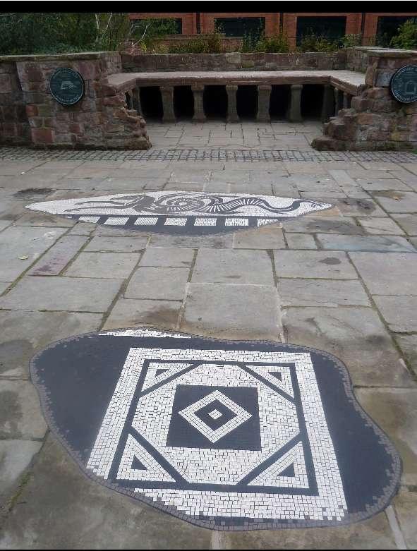 Chester Roman Bathhouse Mosaic - Gary Drostle © 2011