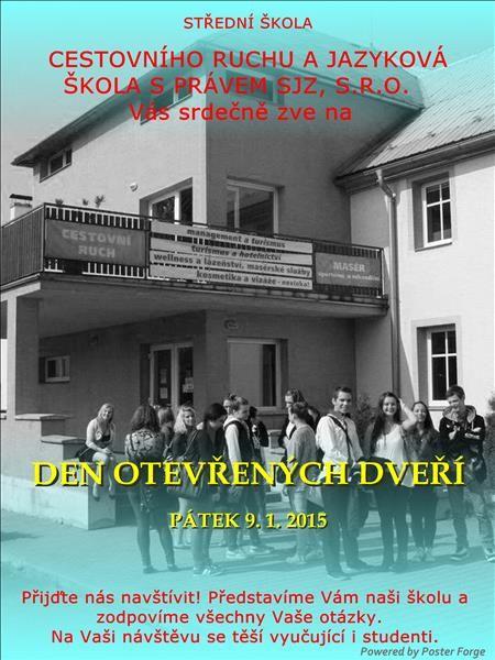 SŠCR Rožnov p.R., budova školy. #sscr #Rožnov #Valašsko #Beskydy #management #turismus #masér #masáže #cestovka