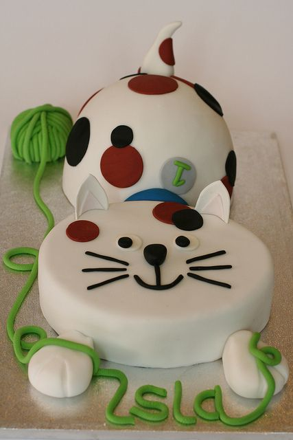 Em- I have collected some pretty cake designs for you! just click on this cute Kitty and let her  lead you to my Pin page!