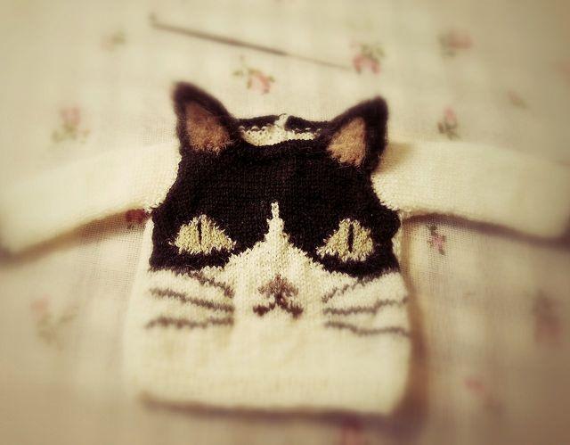 Aitana kitty Sweater by Jiajia Hsu| Flickr - Photo Sharing!