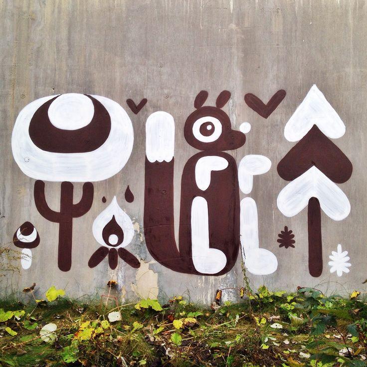 Plushedelica artwork, street art, illustrations & more