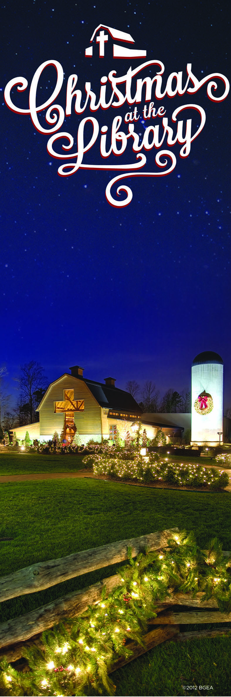 Christmas at the Billy Graham Library