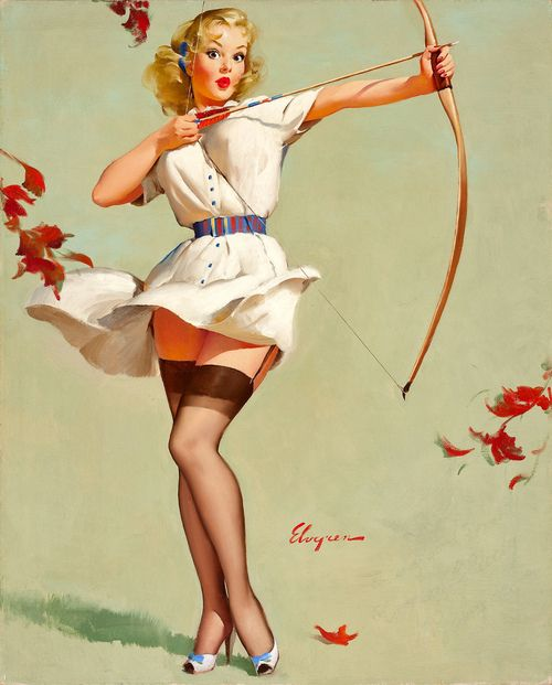 Illustration by Gil Elvgren
