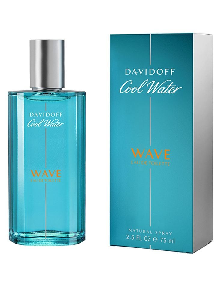 NEW! Davidoff Cool Water Wave Eau de Toilette for Men. Perfect for Norm! pinned from peebles.com