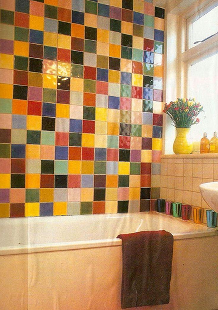 Sele O De Banheiros Coloridos Para Inspirar Banheiros