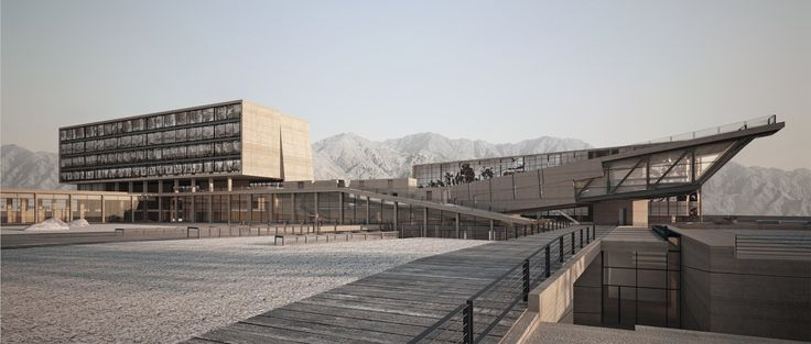 rsica - red sea institute of cinametic arts in Aqaba, Jordan by Symbiosis Designs