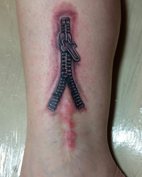 Best 25 scar cover tattoo ideas on pinterest scar for Scars turned into tattoos
