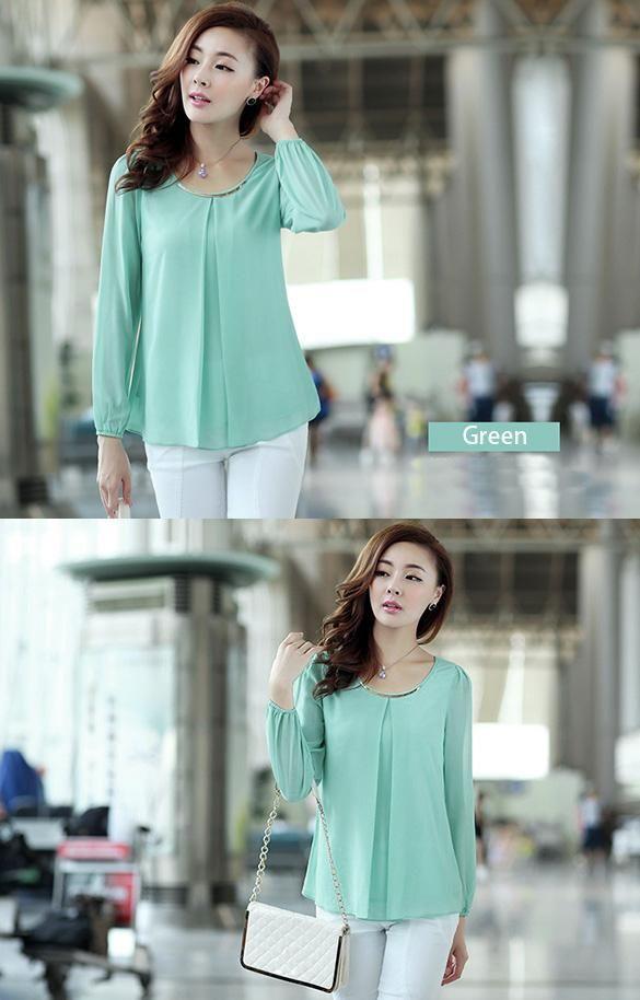 Smart chiffon blouse? Hell yeah - 10 Euro! http://www.ebay.ie/itm/281807042569…  #womensclothing #shopping #fashion #shoponline